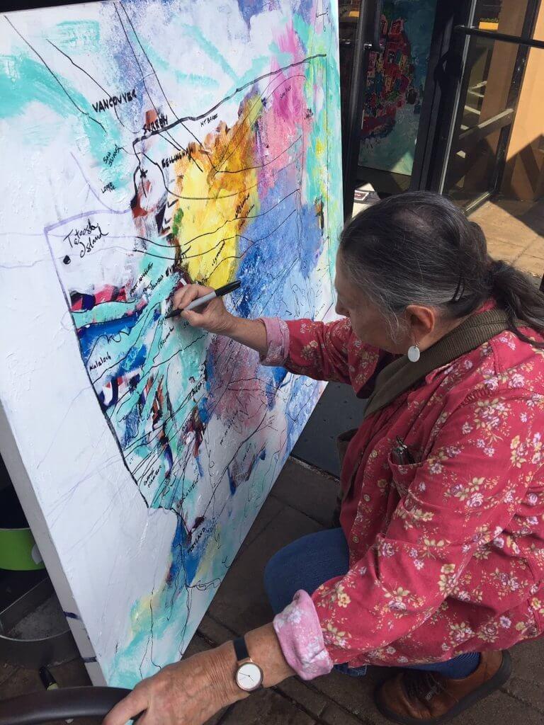 Margaret adds Suquamish